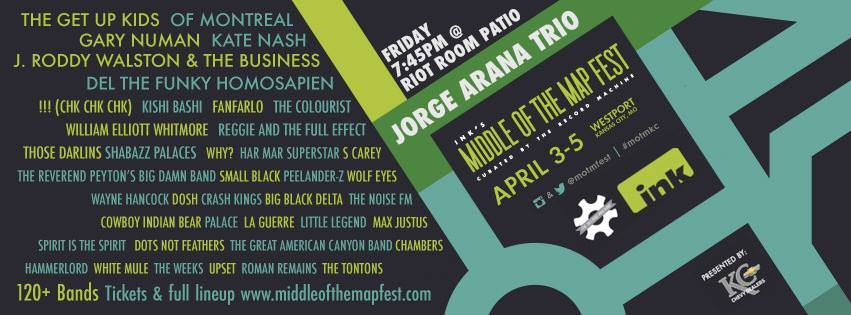 middle of the map jorge arana trio